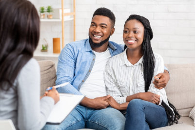 couple having a therapy session
